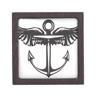 Winged Anchor Gift Box