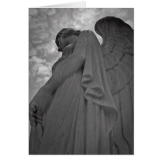 Winged Angel Stationery Note Card