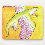 Winged Anole Mousepad