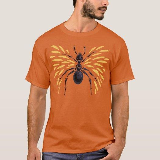 Winged Ant Fiery Orange