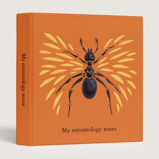 Winged Ant Insect Lover Fiery Orange Entomology