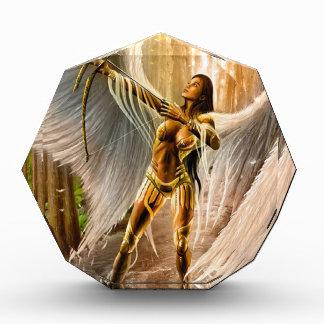Winged Archer Acrylic Award
