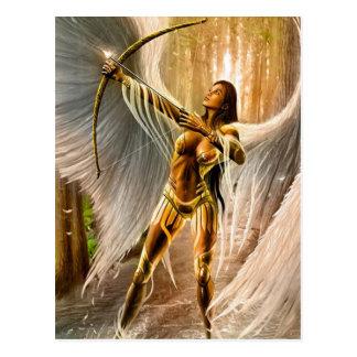 Winged Archer Postcard