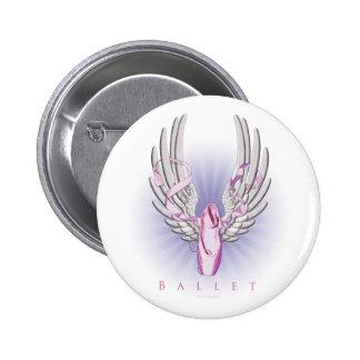 Winged Ballet (Dance) Pinback Button
