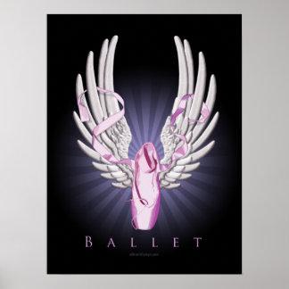 Winged Ballet (Dance) Poster