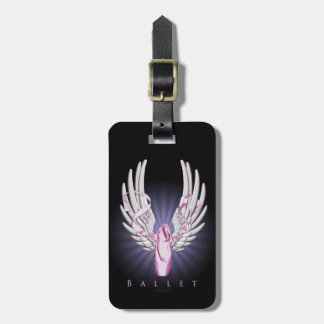 Winged Ballet Luggage Tags