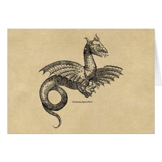 Winged beast of mythology card