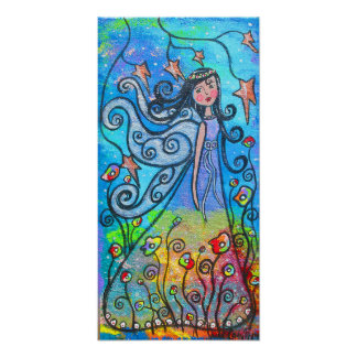 Winged Beauty Fairy Poster