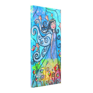 Winged Beauty Gallery Wrapped Canvas