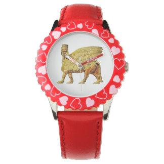 Winged bull (Lamassu)Watch Wrist Watch