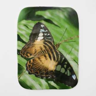 Winged Butterfly Baby Burp Cloth