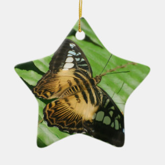 Winged Butterfly Ceramic Ornament