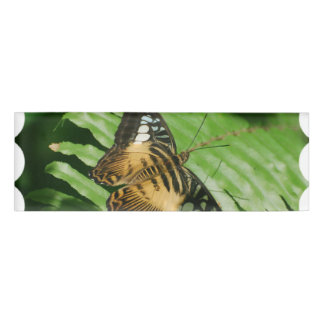 Winged Butterfly Name Tag