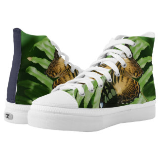 Winged Butterfly Printed Shoes