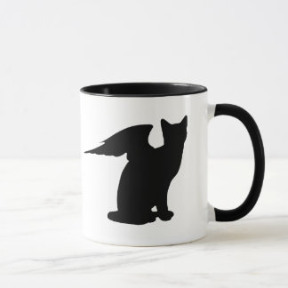 Winged Cat Mug