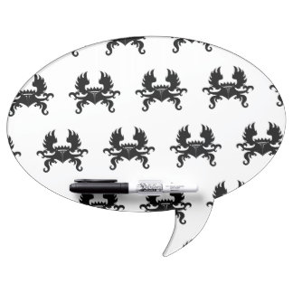 Winged Crown Crest Dry-Erase Whiteboards