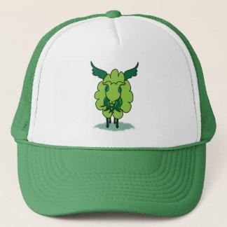 Winged Cthul-ewe Trucker Hat