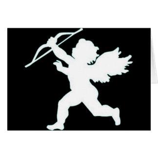 Winged Cupid Card