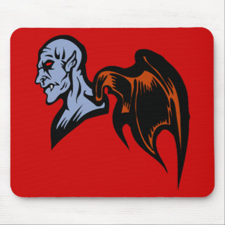 winged demon mouse pad