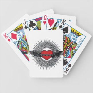 Winged Desire by TEO Bicycle Playing Cards