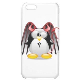 Winged Devil Tux Case For iPhone 5C