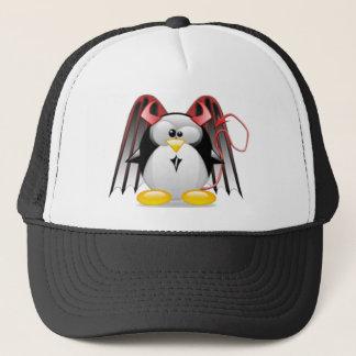 Winged Devil Tux Trucker Hat