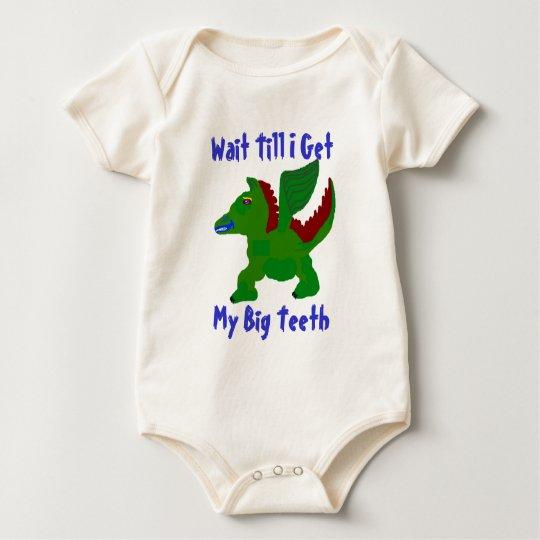 Winged Dino Baby T Shirt