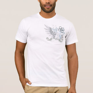 Winged Double Shield Crest Shirt VI