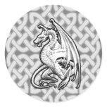 Winged Dragon Classic Round Sticker