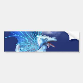 Winged Dragon in Flight Bumper Stickers