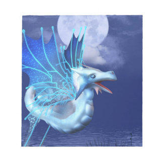 Winged Dragon in Flight Notepad
