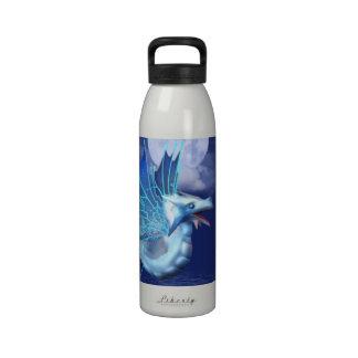 Winged Dragon in Flight Water Bottle