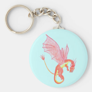 Winged Dragon Key Chain