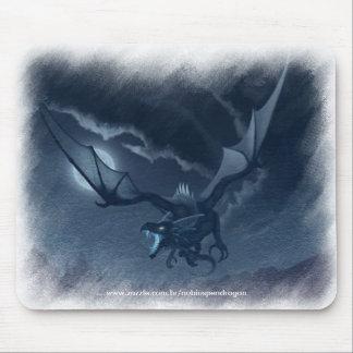 Winged dragon mousepad