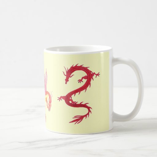 Winged Dragon Mug