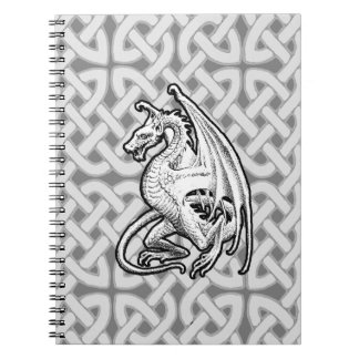 Winged Dragon Spiral Notebook