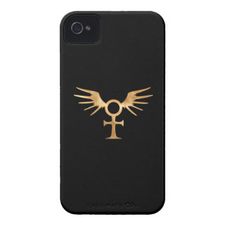 Winged Egyptian Ankh iPhone 4 Case-Mate Cases