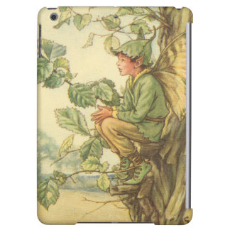 Winged Elm Fairy Sitting in a Tree Case For iPad Air