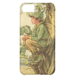 Winged Elm Fairy Sitting in a Tree iPhone 5C Cover