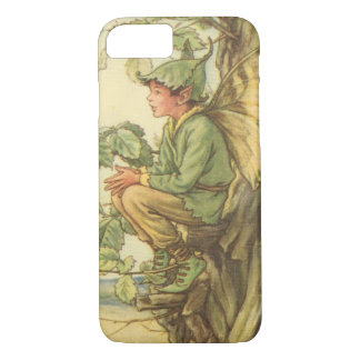 Winged Elm Fairy Sitting in a Tree iPhone 8/7 Case