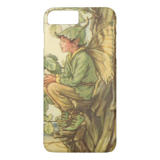 Winged Elm Fairy Sitting in a Tree iPhone 8 Plus/7 Plus Case