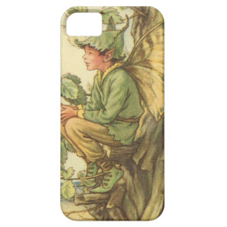 Winged Elm Fairy Sitting in a Tree iPhone SE/5/5s Case