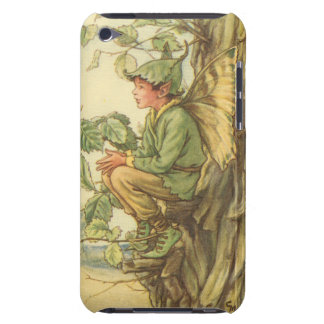 Winged Elm Fairy Sitting in a Tree iPod Touch Case-Mate Case