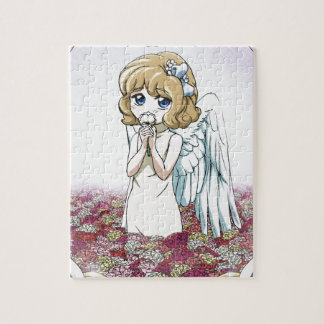 Winged fairy at home puzzles