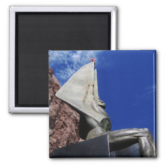 Winged Figure of the Republic 1255 2 Inch Square Magnet