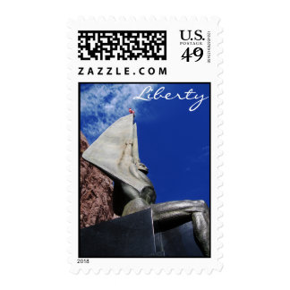 Winged Figure of the Republic 1255 Postage Stamp