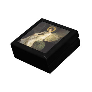 Winged Figure Seated Upon a Rock by Abbott Thayer Jewelry Box