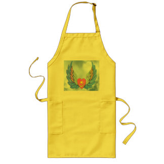 Winged Heart Apron