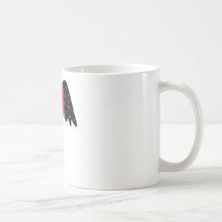Winged heart. coffee mug