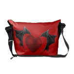 winged heart commuter bags